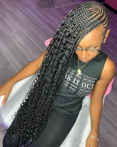 2020 Braids Styles Idea cute braid styles 2020 stylish and attractive styles for 2020 Braids Styles. Here is 2020 Braids Styles Idea for you. 2020 Braids Styles braids for kids 100 back to school braided hairstyles for. Lemonade Braids Hairstyles, Feed In Braids Hairstyles, Box Braids Hairstyles For Black Women, Cute Braided Hairstyles, Black Girl Braids, Baddie Hairstyles, Braids For Black Hair, Girls Braids, African Hairstyles