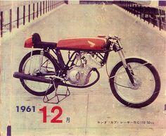 Honda Racer RC110 1961