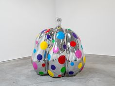 "yayoi kusama wants you to help create her latest artwork | ""Pumpkin,"" 2015."