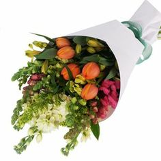 Our delightful bouquet of cottage garden flowers - fragrant and pretty Flying Flowers, Fresh Flowers, Free Delivery, Tulips, Floral Wreath, Christmas Tree, Cottage, Table Decorations, Garden