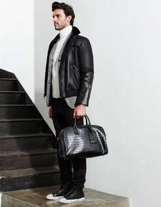 Male Fashion Trends: Jean-Francois Poirier por Tim Zaragoza