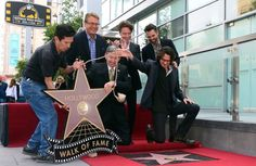 Rick! Awww! Jason Thompson was there when Rick got his star. :)