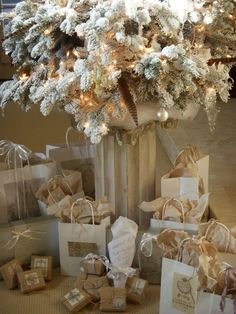 brown paper packages ~ tied up with string...