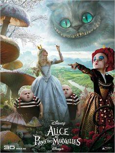 Alicia en el País de las Maravillas : cartel Tim Burton