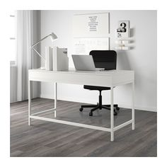 ALEX Desk - white - IKEA  131x60 cm $229. Shame its particleboard, perfect otherwise :(