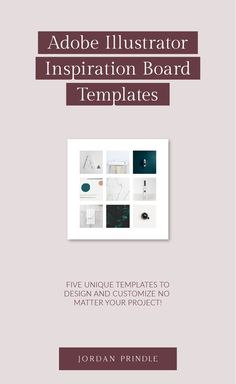 These inspiration board templates are perfect for graphic designers, interior designers, and web designers! Grab your template with my #afflink Brand Design, Your Design, Custom Design, Inspiration Boards, Blogging For Beginners, Graphic Designers, Design Projects, Branding, Mood
