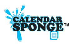 Calendar Sponge.    Over the course of a month, sponges collect and grow millions of harmful bacteria.  Traditional methods of eliminating germs from sponges (ie: cleaning them in the dishwasher and cleaning them in the microwave) are ineffective as they do not kill the dangerous bacteria.   Leading experts agree sponges should be replaced on a monthly basis.  Keep you and your family safe with Calendar Sponge!