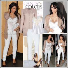 """Kim Kardashian in Beverly Hills, Feb 28"" by robilollo on Polyvore"