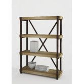 "44H x 32W x 13D  $199 Found it at Wayfair - Emery 44"" Bookcase"
