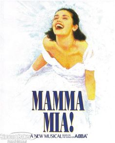 Mama Mia on Broadway! This was a good Broadway show (saw it in NYC)! Broadway Posters, Broadway Nyc, Broadway Plays, Broadway Theatre, Musical Theatre, Broadway Shows, Broadway Playbill, Broadway Tickets, Movie Posters