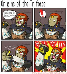 Origins of the Triforce