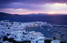 Mykonos, Greece - In Greek mythology Mykonos was the location of the battle between Zeus and the Titans, and the island was named in honor of Apollo's grandson Mykons.
