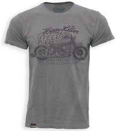 King Kerosin Batik Vintage Hippy Killer Shirt - FC-Moto.de Vintage Hippie, Biker T Shirts, Hippy, Mens Tops, Fashion, Moda, Fashion Styles, Fasion