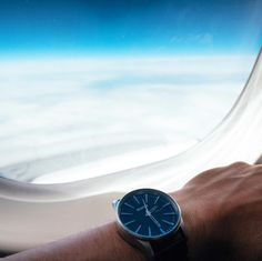 Flying to the next adventure !    Nixon Sentry watch