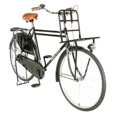 The Hollandia Opa offers the authentic Amsterdam experience for those who think the journey is half the fun. This single speed city bike is great for recreational and commuting rides. Large Front rack