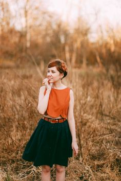 The Clothes Horse: Outfit: Earthy