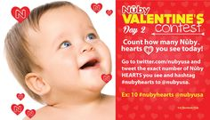 Nuby Valentine's Contest - Day 2