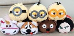 ARE THESE REAL AS NOT DISNEY? MINION TSUM TSUMS?
