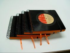 """LP books- finally some way to keep the really scratched LPs I still find hard to throw away. Maybe I'll create photo """"albums"""" & match the music to the subject matter."""