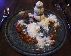 The snowman from Jukkasjärvi #Pastry #Food #Gastronomy #FatCat #Restaurant #Wine #ArtFood #noma