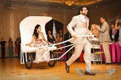 fun way to make an entrance!  #indian #shaadi #wedding #southasian #shaadi #belles | courtesy Projected Life Photography | for more inspiration visit www.shaadibelles.com