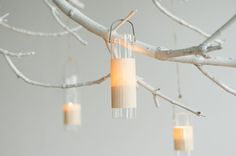 Painted branch chandelier with veneer wrapped candle holders, prop styling by Honeycomb Collective. Scandi Simple inspiration shoot for Hearten Magazine, Art Directed by Jeff Loves Jessica Photography. Driftwood Chandelier, Branch Chandelier, Branch Decor, Painted Branches, Lighted Branches, Scandinavian Wedding, Diy Room Divider, Painted Sticks, Diy Centerpieces