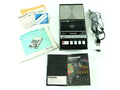 Vintage PANASONIC personal cassette tape player/recorder RQ-413S AC/DC Auto Stop #Panasonic