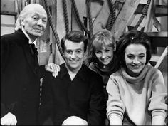 First Doctor with his companions Ian, Vicki, and Barbara
