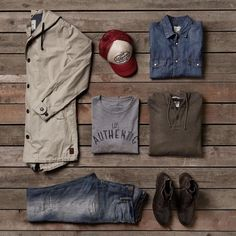 "304 Likes, 13 Comments - JACK & JONES VINTAGE CLOTHING (@vintage.jackandjones) on Instagram: ""How about these new items?  Rugged layering with an Americana feel ⚡#rugged #look #jjvintage…"""