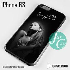 Ariana Grande With Signature Phone case for iPhone 6/6S/6 Plus/6S plus