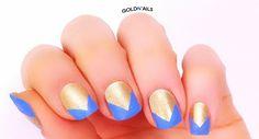"GoldN'ails: מראות הציפורניים של קייטי פרי בקליפ ""סוס אפל"" // Katy Perry 'Dark Horse' Video Nails"
