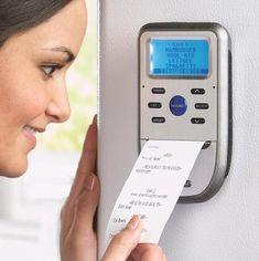 SmartShopper 301 Electronic Grocery List - modern - home electronics - Brookstone