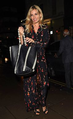 <p>Scene stealer! The actress is seenwearing a black jumpsuit while out and aboutin London.</p>