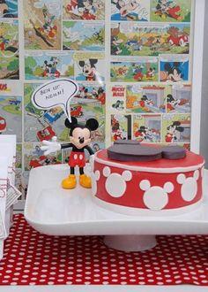 Mickey para una fiesta infantil de cómic