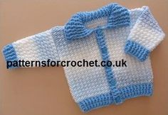 Free baby crochet pattern Ribbed Cardigan USA, #haken, gratis patroon (Engels), baby, jasje, vest, #haakpatroon