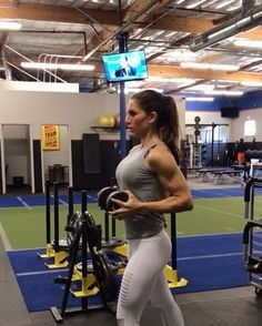 "10.1k Likes, 170 Comments - Alexia Clark (@alexia_clark) on Instagram: ""Pressing to 2017! Upper body workout! 40 seconds of each movement with minimal rest 3 rounds!!!…"""