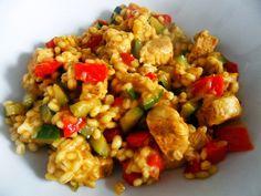Peczotto z kurczakiem i warzywami