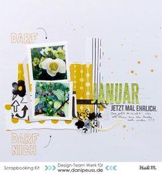 Layout mit dem #dpMärzkit16 von Heidi Masthoff für www.danipeuss.de