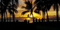Aloha Friday Photo: Sunset Silhouettes | Go Visit Hawaii