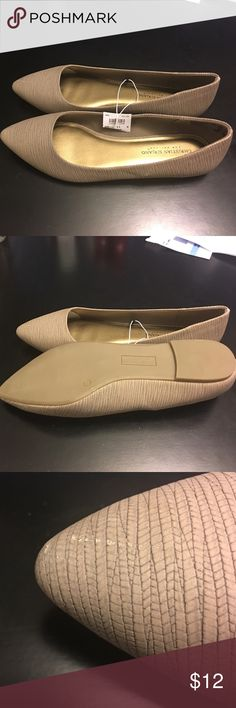 Size 11 wide Christian Siriano flats Size 11 wide Christian Siriano flats.  These are New with tag and have never been worn.  There are two very small scuffs from storage.  Love pointy flats!!! Christian Siriano Shoes Flats & Loafers