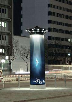 SciFi Channel. Ads.