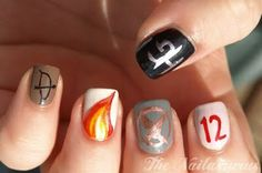 Hunger Games nails