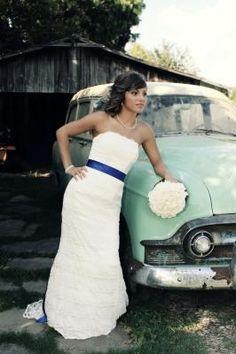 beautiful lace dress from Davids Bridal