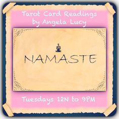 Tarot Card Readings today, Tuesday, from 12N to 9PM EST at Namaste Bookshop, 2 West 14th Street. ‪#‎Tarot‬ ‪#‎tarotreader‬ ‪#‎tarotcardreader‬ ‪#‎tarotnyc‬ ‪#‎tarotnewyork‬ ‪#‎tarotcardreadernewyorkcity‬ ‪#‎tarotcardreaderangelalucy‬ fairy ‪#‎tarotreaderangelalucy‬ ‪#‎psychic‬ ‪#‎psychicnewyork‬ ‪#‎psychicnewyorkcity‬ ‪#‎tarotparty‬ ‪#‎psychics‬ ‪#‎unionsquare‬ ‪#‎tarotreadernewyorkcity‬ Michael ‪#‎unionsquaretarot‬ ‪#‎newagepractitioner‬ ‪#‎tarotreaderforparty‬ ‪#‎spiritualcounselor‬