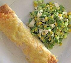 Snabbt och smidigt svänger du ihop dessa goda tortillarullar som bl a är fyllda med kyckling. Till 4 personer behöver: 1 grillad kyckling ...