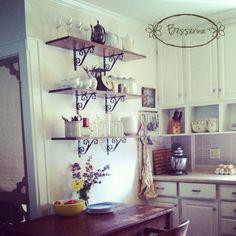 Instagram Farmhouse Kitchen Tour @Besserina