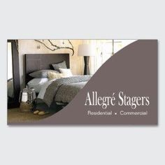 Cards Allegre Stagers Home Staging Interior Design Standard