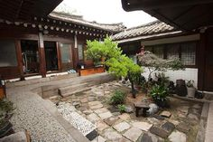 courtyards in  | Nice traditional style Korean B in Old Town - Sophia Guest House ...
