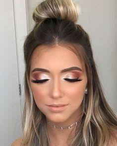 Hochzeits Make-up - Makeup Tips Highlighting Celebrity Makeup Looks, Prom Makeup Looks, Cute Makeup, Gorgeous Makeup, Glam Makeup, Makeup Inspo, Makeup Inspiration, Makeup Tips, Hair Makeup
