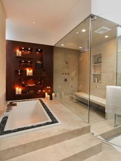 Love Fall Fashion & Beauty: Spa Bathroom Design Ideas